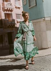 Spell And The Gypsy Collective Winona Gown Sz. Small Bnwt