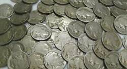 Lot Of 40 Buffalo Indian Head Nickels Full Roll Cull / No Dates