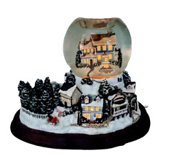 Partylite Holiday Wishes Tealight Musical Christmas Snow Globe Video In Listing