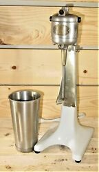 Vintage Arnold 15 Electric Milk Shake Drink Mixer With Cup Patented 1923