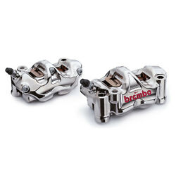 Brembo Front Radial Brake Gp4-rx Gp4 Calipers Kit 130mm Mounting R1 R1m Mt01