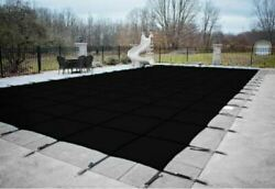 Deluxe Rectangular In-ground Swimming Pool Winter Covers