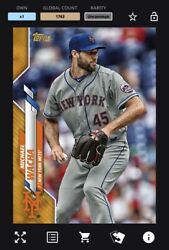 [digital Card] Topps Bunt - Michael Wacha - Physical Base Series 1 Gold Uncommon