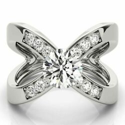 Christmas Deal 1.10 Ct Diamond Anniversary Ring Solid 950 Platinum Rings Size 8