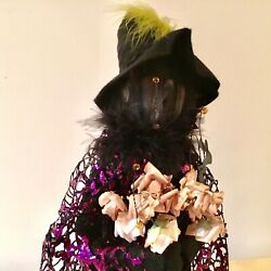 """Byers Choice 2021 Exclusive """"hagitha"""" Halloween Witch Magnificent"""