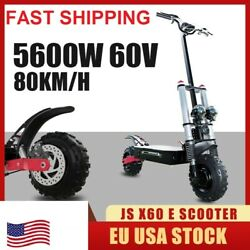 🛴foldable Electric Scooter X60 85kmh Adult E-scooter 80km Range 5600w With Seat
