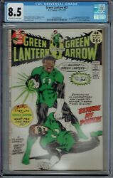 Cgc 8.5 Green Lantern 87 1st Appearance Of John Stewart Ow/w Pages 1971