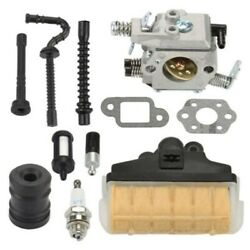Carburetor Set For Stihl Ms210 Ms230 Ms250/021 023 025 Chainsaw Carb Air Filter