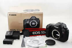 【 Mint In Box 】 Canon Eos 5ds R 5dsr 50.6mp Digital Slr Camera By Dhl From Japan