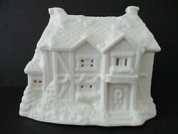 Holiday Centurion Collection Bisque Country Inn Light Up House With Cord