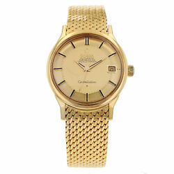 Omega Constellation A02031 34mm Yellow Gold Case Automatic Watch