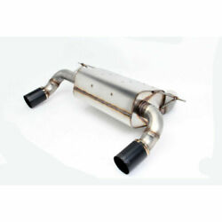 Dinan D660-0055-blk Free Flow Exhaust New For 2013-2019 Bmw F30 340i F32 440i