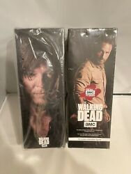 Threezero The Walking Dead Lot Rick Grimes And Daryl Dixon 1/6 Scale Figues New