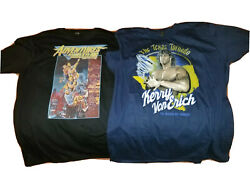 Pro Wrestling Crate Exclusive Major Pod And Kerry Von Erich Xl T-shirts