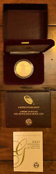 American Eagle 2021 One Ounce Gold Proof Coin 21eb