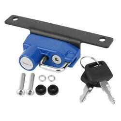 Motorcycle Helmet Lock Right Side Alloy Anti-theft Fit For R Ninetblue