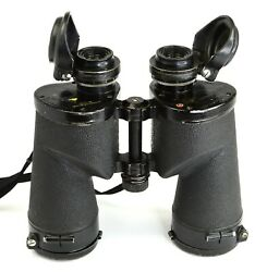 Bausch And Lomb Type 2790 M17 7x50mm Binoculars Us Navy 1940s - Wwii - Calypso - A
