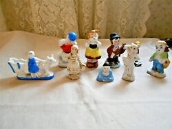EARLY MADE IN JAPAN SMALL CERAMIC FIGURINES