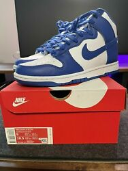 Nike Dunk High Game Royal Size 9 Us Mens Dd1399-102 Ds Deadstock Brand New
