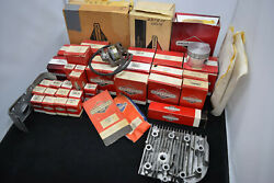 Nos Briggs And Stratton Engine Parts Lot Of 40