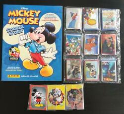 Panini Mickey Mouse Complete Set + Album Micky Maus 90 Years Jahre Sticker Story