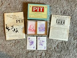 Vintage Bull and Bear Edition PIT Card Game by Parker Brothers © 1919