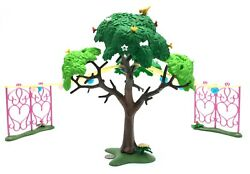 Playmobil Large Tree 2 Looks 1 Party 2 Squirrels See Pictures Backyard Scenery