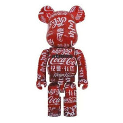Be@rbrick Atmosandtimescoca-cola Clear Red1000 Japan Limited Toy Hobby Be @ Rbrick