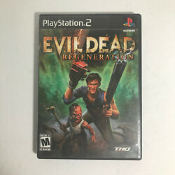 Evil Dead: Regeneration Complete Very Good Condition Playstation 2 PS2