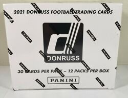 2021 Nfl Donruss Sealed Cello/fat Pack/value Box-elite/rated Rookies 12 Packs