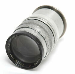 Astro Berlin 1.9 / 100mm Tv Tachar C Rare Lens Glass Need Cleaning