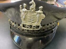 Vintage 1950and039s Police Hat - Father Of Former Musician