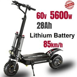 🛴folding Electric Scooter 60v 5600w Dual Motor 85kmh Seated Adult E-scooter New