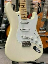 Fender Usa New American Vintage And03956 Stratocaster White Blonde 2013 Used/hardcase