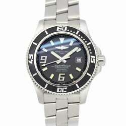 Breitling Superocean44 A17391 Date Automatic Black Dial Mens Watch 90138866