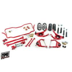 Umi Abf805-2-r 68-72 A-body Stage 3 Kit 2 Inch Lower Red