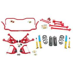 Umi Abf803-2-r 68-72 A-body Stage 2 Kit 2 Inch Lowering Red