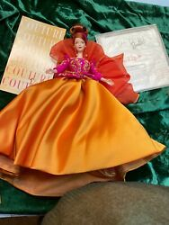 Barbie Doll Couture Symphony In Chiffon In Box With Coa With Box