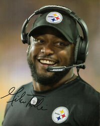 Pittsburgh Steelers 2021 Magnet Schedule+3 Stickers+4 Mike Tomlin Photo