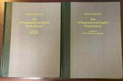 Atlas Of Topographical And Applied Human Anatomy 2 Volumes Eduard Pernkopf 1963