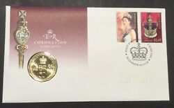 2003 Aust 50c Coin Pnc Fdc Coronation Jubilee - Free Tracked Domestic Postage