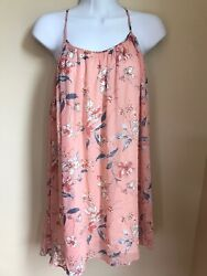 Abercrombie And Fitch Women Pink Casual Dress Size Xs