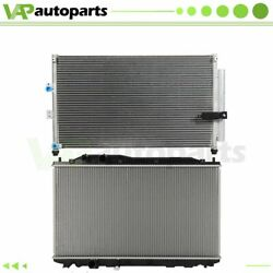 For 06 07 08 09 10 10 Acura Csx Honda Civic Rdiator And Condenser Cooling Assembly