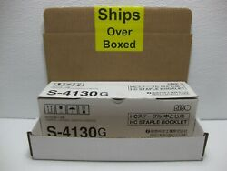 Risograph S-4130g Riso Hc Staple Booklet 2500 Pcs Genuine Ships Overboxed