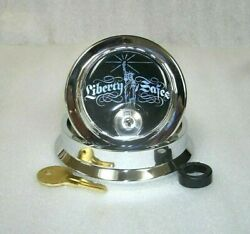 Sandg Silver Chrome Replacement Dial And Ring-key And Bearing-liberty Logo 6700 Series