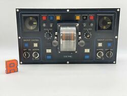Berg Propulsion Ed30838 Control Panel Bridge Aft For Parts-not Tested