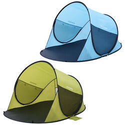 Pop Up Tent Automatic Instant Beach Park Outdoor Camp Fishing Hiking Sun Shaded