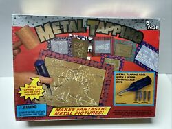 Nsi Metal Tapping Kit 5 Tapping Tool Bits 9503 Picture Frames Kids Craft New