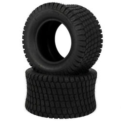 2pcs 24x12.00-12 Turf Tires Lawn Mower Tractor 8 Ply Rated 24x12-12 Tubeless