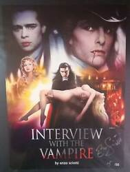 Interview With The Vampire Enzo Sciotti 42x30 Print Signed